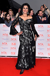 Wilnelia Merced attending the National Television Awards 2018 held at the O2 Arena, London. PRESS ASSOCIATION Photo. Picture date: Tuesday January 23, 2018. See PA story SHOWBIZ NTAs. Photo credit should read: Matt Crossick/PA Wire