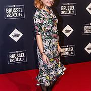 NLD/Amsterdam/20170119 - Premiere Brussel, zwangere Caroline Spoor
