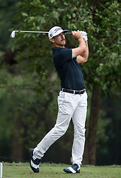 November 25, 2017 - Hong Kong, Hong Kong SAR, CHINA - HONG KONG SAR,CHINA: November 25,2017. Day 3 of the UBS Hong Kong Open Golf at Hong Kong Golf Club Fanling. Australia's Wade Ormsby on the fairway. ORMSBY goes into the final round at 9 under par holding equal 2nd position with Spains Rafa CABRERA BELLO (Credit Image: © Jayne Russell via ZUMA Wire)