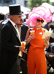 Ms Julia Noble during day four of Royal Ascot at Ascot Racecourse.