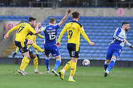 Oxford United midfielder James Henry (17) takes a shot at goal during the EFL Sky Bet League 1 match between Oxford United and Bristol Rovers at the Kassam Stadium, Oxford, England on 23 January 2021.