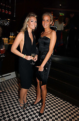 Left to right, OLIVIA BUCKINGHAM and LADY LOUISA COMPTON at The Christmas Cracker - an evening i aid of the Starlight Children's Charity held at Frankies, Knightsbridge on 13th December 2006.<br /><br />NON EXCLUSIVE - WORLD RIGHTS