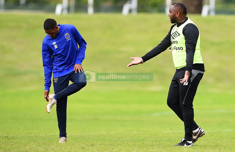 Cape Town-180801-Cape Town City Coach Bennie McCarthy and Craig Martin at training session at Hartleyvale Stadium, ahead of their opening game of the 2018/2019 PSL season against Supersport United at Cape Town Stadium on saturday.Photograph:Phando Jikelo/African News Agency/ANA