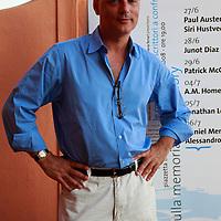 Daniel Mendelsohn, author<br /> <br /> copyright Steve Bisgrove/Writer Pictures<br /> contact +44 (0)20 822 41564<br /> info@writerpictures.com<br /> www.writerpictures.com