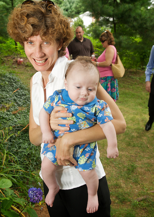 August 9, 2009, Westwood / Walpole, MA, USA, - J. KIELY JR. PHOTOGRAPHY -- Baptism of Daniel James McKenna at St Margaret Mary Church in Westwood with party at Kiely family home in Walpole...( © 2009 J. KIELY JR. - LIGHTCHASER PHOTOGRAPHY)
