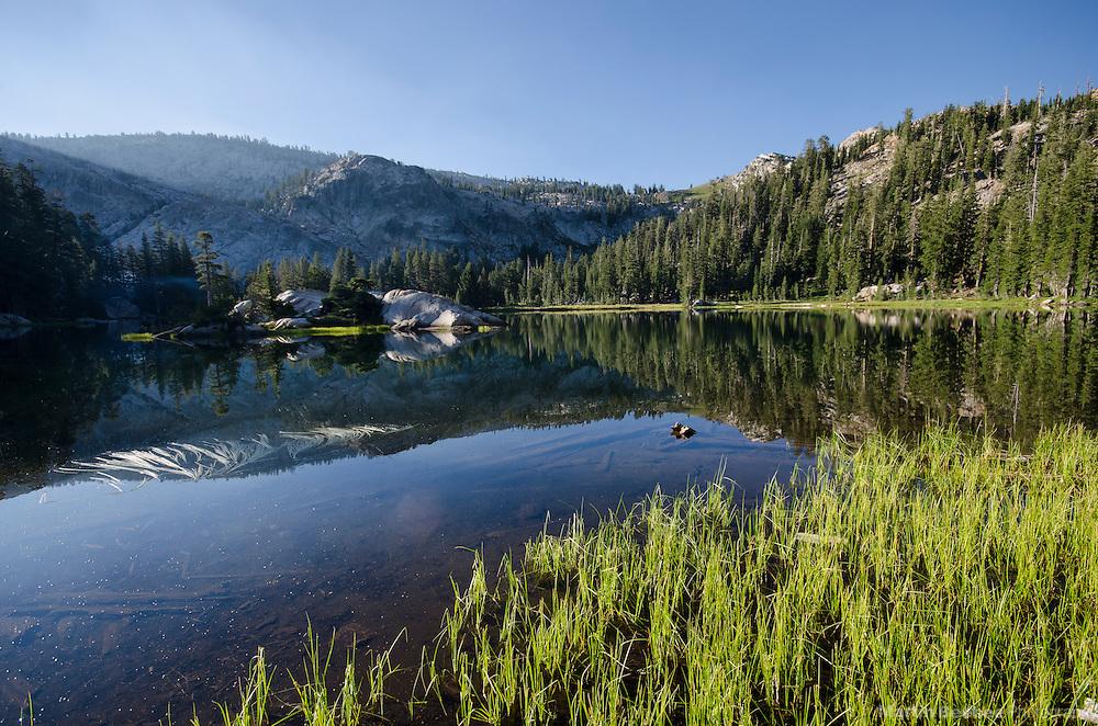 Bull Run Lake, Carson-Iceberg Wilderness, Stanislaus National Forest, California