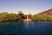 Captain Cook Monument, Kealakekua Bay, Big Island of Hawaii