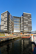 New ANZ Bank Headquarters, Docklands area Melbourne on Yarra river frontage, Victoria. Australia.<br /> <br /> For larger JPEGs and TIFF Contact EFFECTIVE WORKING IMAGE via our contact page at : www.photography4business.com