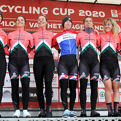 01-03-2020: Wielrennen: Hageland vrouwen: Tielt-Winge: Parkhotel Valkenburg
