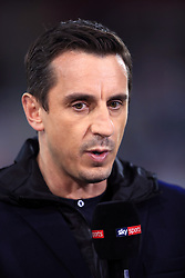 Sky Sports commentator Gary Neville before the Premier League match at the Vitality Stadium, Bournemouth.
