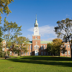Baker Hall on the Dartmouth College Green in Hanover, New Hampshire.