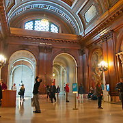 McGraw Rotunda in New York Public Library (Main branch in New York City)