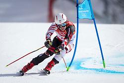 18-02-2018 KOR: Olympic Games day 9, Pyeongchang<br /> Alpine Skiing Men's Giant Slalom at Yongpyong Alpine Centre / Filip Zubcic of Croatia
