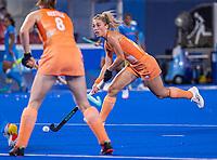 TOKIO - Laura Nunnink (NED)  tijdens de wedstrijd dames , Nederland-India (5-1) tijdens de Olympische Spelen   .   COPYRIGHT KOEN SUYK