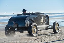 Racing down the sandy beach during the Race of Gentlemen. Wildwood, NJ, USA. October 11, 2015.  Photography ©2015 Michael Lichter.