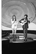 Eurovision Song Contest - Various.<br /> 1971.<br /> 03.04.1971.<br /> 04.03.1971.<br /> 3rd April 1971.<br /> The Eurovision song Contest was held at the Gaiety Theatre in Dublin. The contest was won by Monaco with the song Un banc,Un Arbre,Une Rue, sung by Severine.<br /> Here is a series of images taken in the Gaiety during the contest and some images taken of some of the entrants in Dublin City
