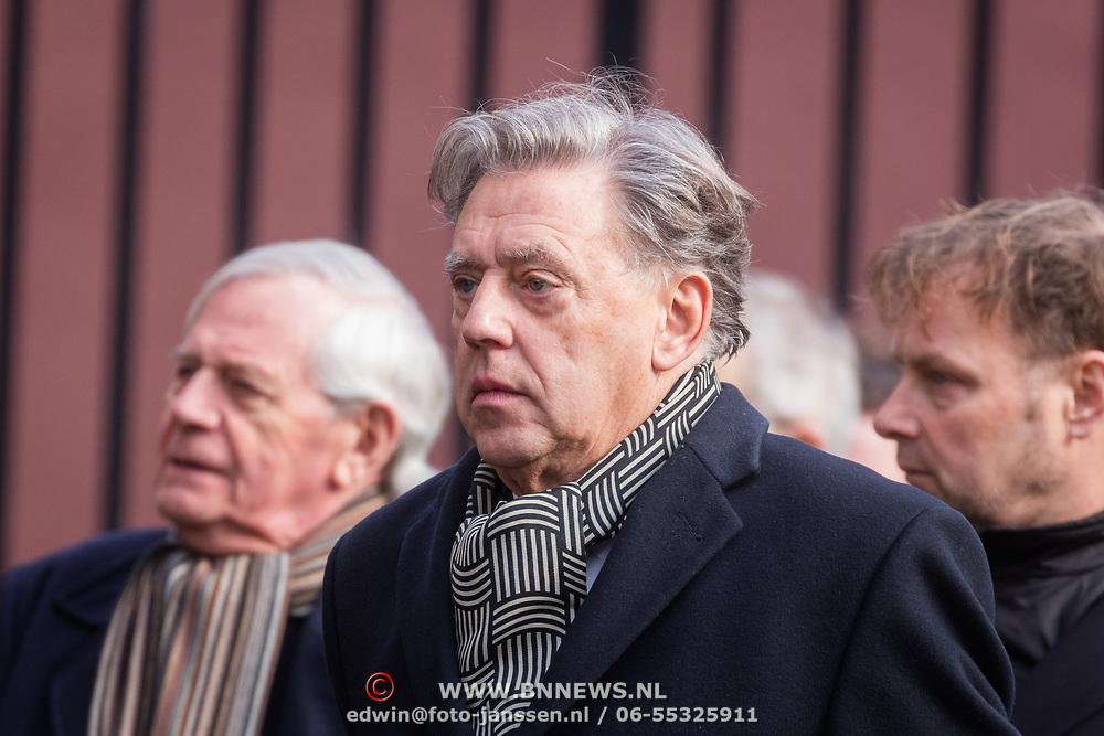 NLD/Rotterdam/20180220 - Herdenkingsdienst Ruud Lubbers, Ed Nijpels