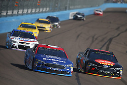 November 12, 2017 - Avondale, Arizona, United States of America - November 12, 2017 - Avondale, Arizona, USA: Trevor Bayne (6) battles for position during the Can-Am 500(k) at Phoenix Raceway in Avondale, Arizona. (Credit Image: © Justin R. Noe Asp Inc/ASP via ZUMA Wire)