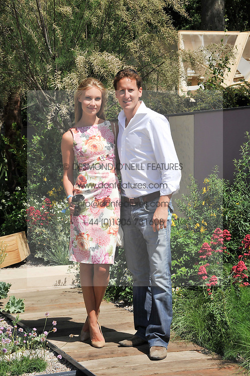 BRENDAN COLE and his wife ZOE HOBBS  at the 2011 RHS Chelsea Flower Show VIP & Press Day at the Royal Hospital Chelsea, London, on 23rd May 2011.