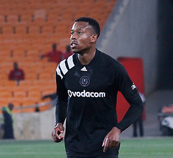 Happy Jele in a match between Orlando Pirates  and Cape Town City at  Fnb Stadium on Tuesday September 19, 2017.