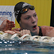 Cate Campbell competing in the Women's 50m freestyle semi -final  during the Australian Swimming Championships and Selection Trials for the XIII Fina World Championships held at Sydney Olympic Park Aquatic Centre, Sydney, Australia on March 20, 2009. Photo Tim Clayton