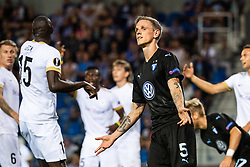 September 20, 2018 - Genk, Belgien - 180920 Sören Rieks of Malmö FF looks dejected during the Europa League group stage match between Genk and Malmö FF on September 20, 2018 in Genk..Photo: Ludvig Thunman / BILDBYRÃ…N / kod LT / 35538 (Credit Image: © Ludvig Thunman/Bildbyran via ZUMA Press)