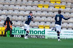 Raith Rovers John Baird cele scoring their first half goal. half time : Livingston 0 v 1 Raith Rovers, William Hill Scottish Cup played 18/1/2020 at the Livingston home ground, Tony Macaroni Arena.