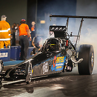 Shane Weston (3301) in his Top Alcohol Dragster.