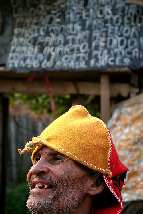 Maraba, 05/11/2006..Retratos de ex garimpeiros da Serra Pelada....Foto: Bruno Magalhaes / Agencia Nitro
