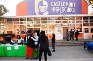 The 2019 Oakland Promise Annual Report is released at Castlemont High School in Oakland, California