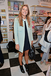 LUCY DAY at a party to launch Biscuiteers Fashion Biscuit Collection inspired by Alice Naylor-Leyland's wardrobe held at Biscuiteers, 194 Kensington Park Road, London W11 on 23rd June 2015.