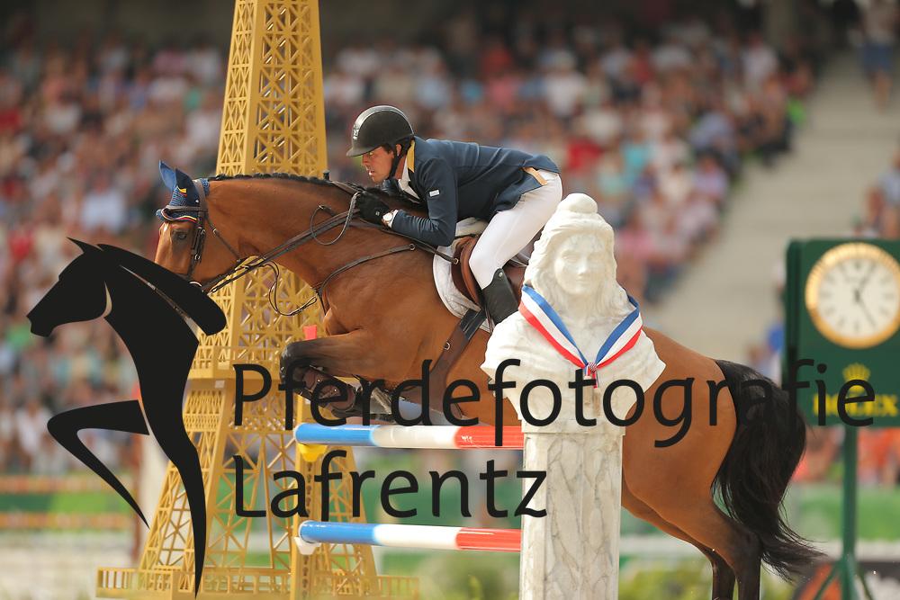 Teran Tafur, Roberto, Woklahoma<br /> Normandie - WEG 2014<br /> Springen - Finale III<br /> © www.sportfotos-lafrentz.de/ Stefan Lafrentz