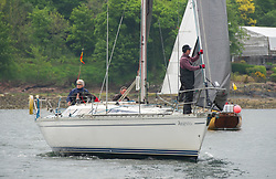 Day 2 Sailing, SCOTLAND<br /> <br /> Class 7, Argento, Jeanneau, Sunshine 38, GBR 5151C<br /> <br /> The Scottish Series, hosted by the Clyde Cruising Club is an annual series of races for sailing yachts held each spring. Normally held in Loch Fyne the event moved to three Clyde locations due to current restrictions. <br /> <br /> Light winds did not deter the racing taking place at East Patch, Inverkip and off Largs over the bank holiday weekend 28-30 May. <br /> <br /> Image Credit : Marc Turner / CCC