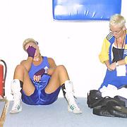 2. WOMEN'S WORLD BOXING CHAMPIONSHIPS.<br /> Swede's Wayber FRIDA after the match. Dilek Sabanci Sport Hall Antalya/Turkey<br /> Photo by Aykut AKICI/TurkSporFoto