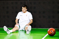 Jan Mocnik of Union Olimpija during basketball match between KK Union Olimpija and Unics Kazan (RUS) of 10th Round in Group D of Regular season of Euroleague 2011/2012 on December 21, 2011, in Arena Stozice, Ljubljana, Slovenia. (Photo by Vid Ponikvar / Sportida)