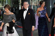 H.R.H. Princess Máxima of the Netherlands to Celebrate Her Birthday With a Few of Her Closest Royal Friends with a concert in the Concertbuilding in Amstyerdam.<br /> <br /> Her Royal Highness Princess Máxima of the Netherlands will be celebrating her 40th birthday in a concert of the Royal Concertgebouw Orchestra at the Concertgebouw in Amsterdam.<br /> <br /> Besides friends, family, members of foreign royal houses there will also be people there with whom she has worked with the for the past 10 years.<br /> <br /> On the Photo:<br /> <br />  Pieter van Vollenhoven and Princes Margriet