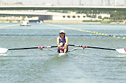Peter Spurrier Sports  Photo.email pictures@rowingpics.com.Tel 44 (0) 7973 819 551.Tel/Fax 44 (0) 1784 440 772..GBR W1X Guin Batten Seville, SPAIN. FISA World Cup Regatta on the Guadalquivir River.  [Madatory Credit : Peter Spurrier Intersport Images] 20010515 FISA World Cup, Seville, SPAIN
