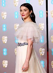 Rachel Weisz attending the 72nd British Academy Film Awards held at the Royal Albert Hall, Kensington Gore, Kensington, London.