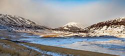 THEMENBILD - Gufudalsvegur Reykholahreppur, aufgenommen am 23. Oktober 2019 in Island // Gufudalsvegur Reykholahreppur, Iceland on 2019/10/23. EXPA Pictures © 2019, PhotoCredit: EXPA/ Peter Rinderer
