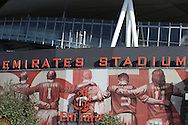 General view of outside the Emirates Stadium. Premier league match, Arsenal v Middlesbrough at the Emirates Stadium in London on Saturday 22nd October 2016.<br /> pic by John Patrick Fletcher, Andrew Orchard sports photography.