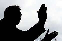 Aston Villa manager Dean Smith during the Sky Bet Championship Play-off, Semi Final, First Leg at Villa Park, Birmingham.