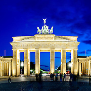 Brandenburg Gate (Brandenburger Tor) in Berlin, Germany