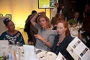 CLARE WISE; EMMA THOMPSON; JANE GOLDSMITH, ActionAid  wine-tasting fundraiser Call My Wine Bluff - Quaglino's. Bury St. London. 19 November 2009