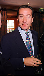 The HON.ROBERT HANSON son of top businessman Lord Hanson, at a fashion show in London on 28th September 1999.MWW 61