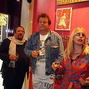 Opening Stip galerie, Henk, Michel Romeijn en Louise Schiffmacher - van Teijlingen