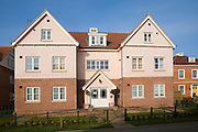 The Maharishi Garden Village is a 30-home settlement in Rendlesham, Suffolk, England built according to the principles of Maharishi Sthapatya Veda architecture.