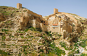 The Holy Lavra of Saint Sabbas, known in Syriac as Mar Saba [Marsaba] is a Greek Orthodox monastery overlooking the Kidron Valley at a point halfway between the Old City of Jerusalem and the Dead Sea, within the Bethlehem Governorate of the West Bank. The monks of Mar Saba and those of subsidiary houses are known as Sabaites.