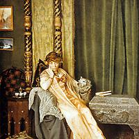 """Myriam Harry (1869-1958) femme de lettres francaise, elle recoit pour la 1ere fois le Prix Femina en 1904 pour son livre """"La conquete de Jerusalem"""" c. 1910 --- Myriam Harry (1869-1958) french woman of leters c. 1910<br /> <br /> Copyright Rue Des Archives/Writer Pictures<br /> <br /> NO FRANCE, NO AGENCY SALES"""