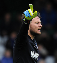 Chesterfield's Tommy Lee - Photo mandatory by-line: Harry Trump/JMP - Mobile: 07966 386802 - 03/04/15 - SPORT - FOOTBALL - Sky Bet League One - Yeovil Town v Chesterfield - Huish Park, Yeovil, England.
