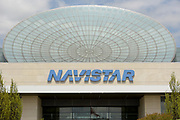 The Navistar Corporate Headquarters in Lisle, Illinois. Navistar operates as the owner of the International brand of trucks and diesel engines and is the successor to International Harvester. Navistar and has subsidiaries world wide in the defense, engine and trucking industry.